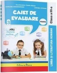 Comunicare in limba romana. Clasa a 3-a. Caiet de evaluare - Vasile Molan