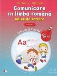 Comunicare in limba romana cls 1 Caiet de scriere - Arcadie Suceveanu Valentina Lungu