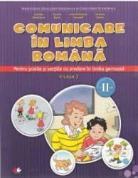 Comunicare in limba romana predare in limba germana - Clasa 1. Sem.2 - Gabriela Barbulescu