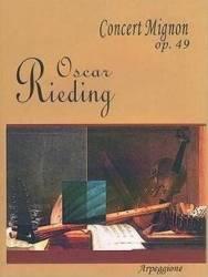 Concert In Si Minor Op. 35 - Pentru Vioara Si Pian - O. Rieding