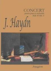 Concert Pentru Pian Si Orchestra Hob Xviii 5 - J. Haydn