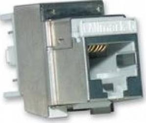 Conector Nexans RJ45 cat 6 ecranat Evo Snap-In LANmark