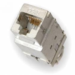 Conector Nexans RJ45 cat 7A ecranat GG45 12C Snap-In LANmark