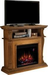 Consola media cu focar electric ClassicFlame CORINTH Premium Oak Aparate de incalzire