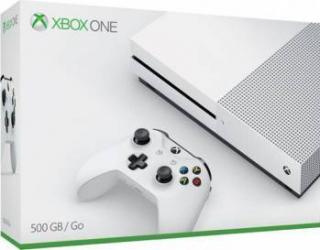 Consola MICROSOFT Xbox One Slim 500 GB, alb
