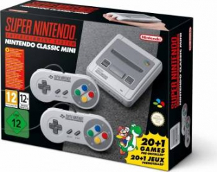 Consola Nintendo Classic Mini SNES - GDG + 21 Jocuri Preinstalate Console jocuri
