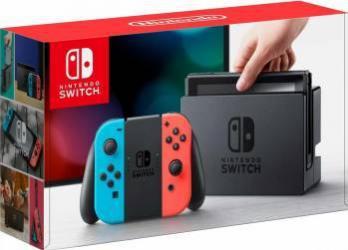 Consola Nintendo SWITCH Joy-Con Neon Red Neon Blue  Console jocuri