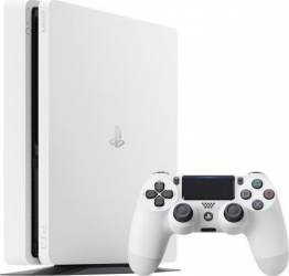 Consola Sony Playstation 4 Slim, 500 GB, Alba Console jocuri