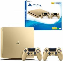 Consola Sony Playstation 4 Slim 500GB Gold + Extracontroller Console jocuri