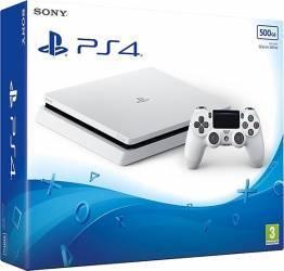 Consola Sony PlayStation 4 Slim 500GB E Chassis White Console jocuri