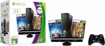 pret preturi Consola XBOX 360 4GB Kinect +Joc Adventures +Joc Disneyland