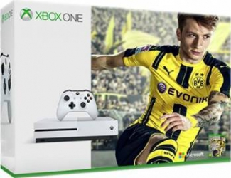 Consola Xbox One S 500 GB + FIFA 17 (Cod Download) + 1 Luna Acces EA