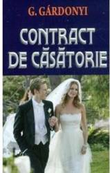 Contract de casatorie - G. Gardonyi Carti