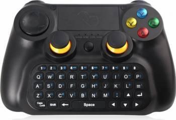 Controller 3 in 1 Dobe TI-501 bluetooth cu tastatura si touchpad, negru Gadgeturi