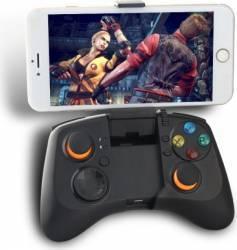 Controller Dobe gamepad Bluetooth cu suport pentru telefon pana in 6 inch Negru Gadgeturi