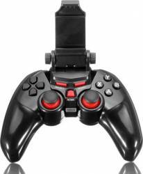 Controller DOBE T1-465 Wireless Android/IOS/PC Bluetooth cu suport pentru telefon pana in 6 inch Negru Gadgeturi
