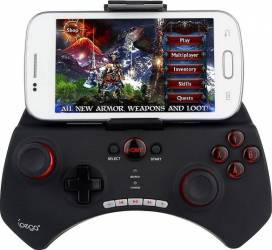 Controller Ipega PG9025 wireless bluetooth 3.0 pentru iphone si Android negru Gadgeturi