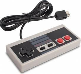 Controller NES pentru Nintendo Classic Mini cu cablu de 2m gri Gamepad & Joystick