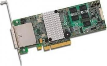 Controller RAID Fujitsu SASSATA LSI MegaRAID PCIe 2.0 x8 512MB Controllere RAID