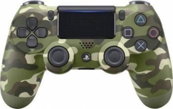 Controller Sony Dualshock 4 v2 pentru PlayStation 4 Green Camouflage Gamepad & Joystick