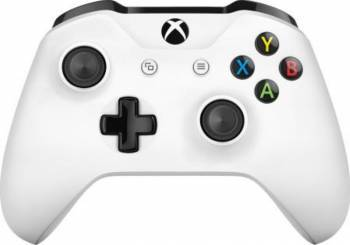 Xbox ONE S Wireless Controller - White Gamepad & Joystick