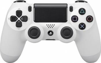 Controller Wireless Sony Dualshock 4 PS4 Alb V2 Gamepad & Joystick