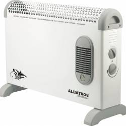 Convector electric Albatros CT-18Turbo, 1800W, Alb Aparate de incalzire
