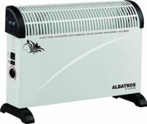 Convector electric Albatros CT-21Turbo 2000W Functie Turbo 3 trepte de putere Alb Aparate de incalzire