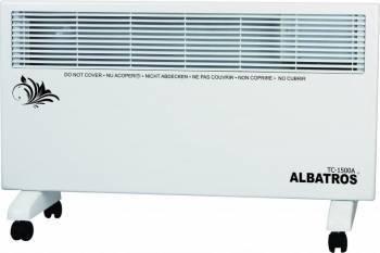 Convector electric Albatros TC-1500A 1500W termostat reglabil Alb