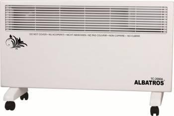 Convector electric Albatros TC-2000A 2000W termostat reglabil Alb