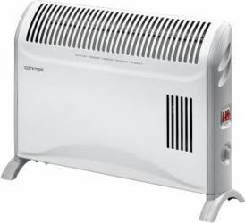 Convector electric Concept KS3007 2000 W 3 trepte de putere termostat reglabil alb Aparate de incalzire