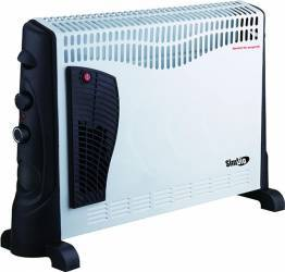 Convector electric Simbio CHY08 2000W alb turbo Aparate de incalzire