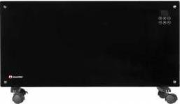 Convector electric de podea 2000 W Telecomanda Suprafata sticla Touch screen Afisaj LCD Aparate de incalzire