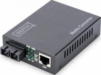 Convertor Media Digitus Fast Ethernet DN-82020-1 Adaptor Retea