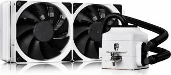 Cooler procesor cu lichid DeepCool Gamer Storm Captain 240 EX White Coolere componente