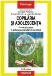 Copilaria si adolescenta - Georgeta Panisoara Dorina Salavastru Laurentiu Mitrofan