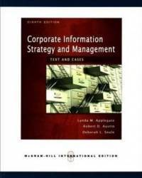 Corporate Informat Strategy and Management
