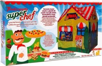 Cort pentru copii de joaca pentru interior sau exterior Casuta Chef Pizza Corturi si Casute copii