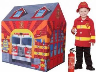 Cort de joaca pentru copii Statia de Pompieri  Corturi si Casute copii