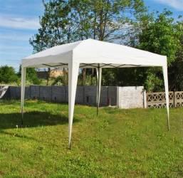 pret preturi Cort Pavilion 3x3m pentru Curte Gradina sau Evenimente Culoare Alb