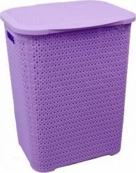 Cos de Rufe Heinner Plastic 69 L 35 X 45 X 56 CM MOV Hartie igienica si Accesorii baie
