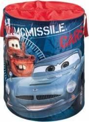 Cos pentru depozitat jucarii Cars - Disney Mobila si Depozitare jucarii