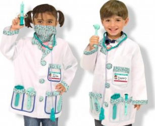 Costum carnaval copii Medic Melissa and Doug Costume serbare