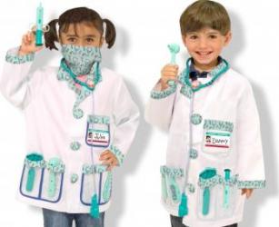 Costum carnaval copii Medic Melissa and Doug Costume serbare