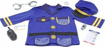 Costum carnaval copii Ofiter de Politie Melissa and Doug Costume serbare