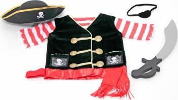 Costum carnaval copii Pirat Melissa and Doug Costume serbare