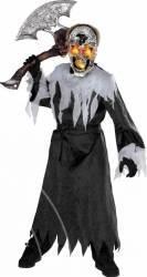 Costum Carnaval cu Craniu Halloween M cu Lumini