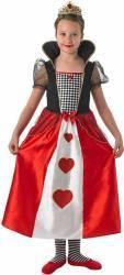 Costum de carnaval - REGINA DE CUPA 9 - 10 ani Costume serbare
