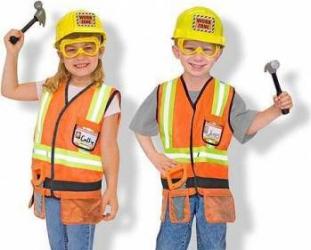 Costum de carnaval jocuri de rol Constructor Melissa and Doug Costume serbare