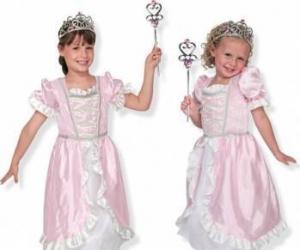 Costum de carnaval jocuri de rol Printesa Melissa and Doug Costume serbare